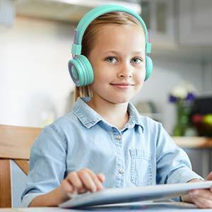 child headphones kids headphones bluetooth headphones with microphone wired headphones for kids