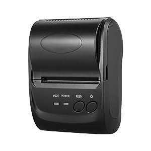 KKmoon POS-5802DD - Mini impresora térmica de recibos, Bluetooth ...