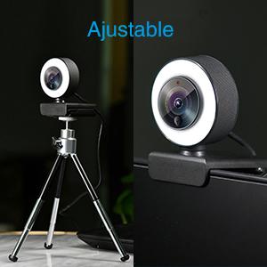 Retransmision en directo de camara microsoft webcam