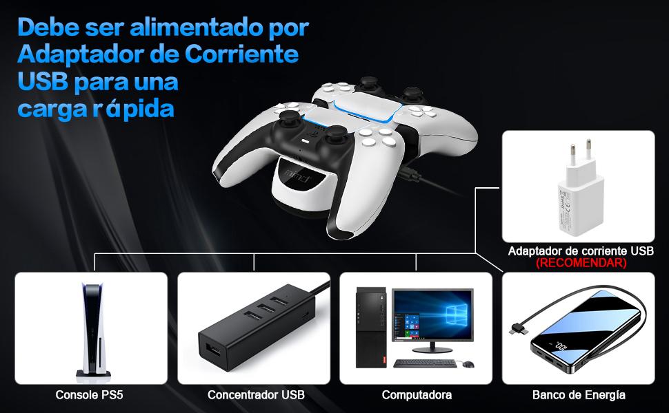 Cargador Mando PS5
