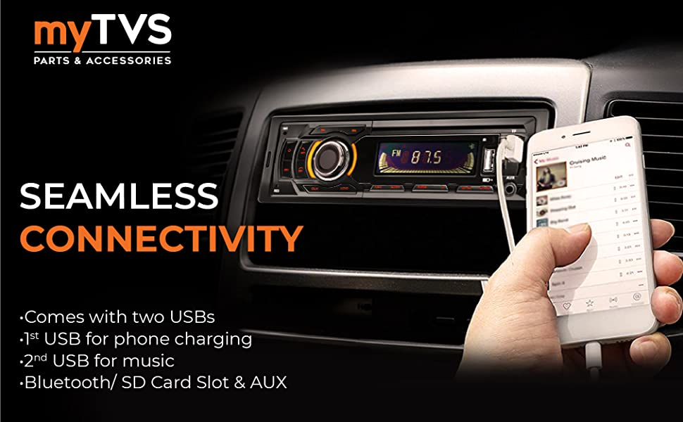 car media player with bluetooth