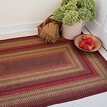 Living Room Jute braided rugs