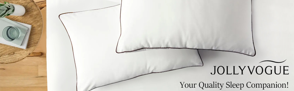 BED PILLOW FOR SLEEEPING 2 PACK