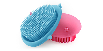 shampoo brush for hair and body