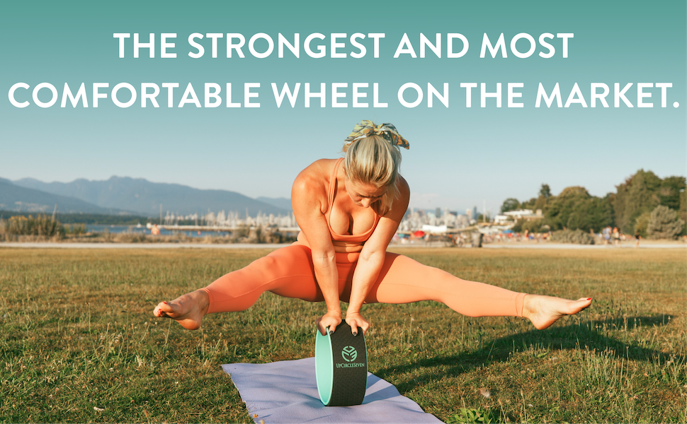 12 Inch Yoga Wheel