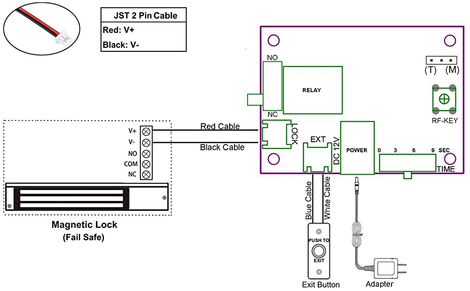 for mag lock wire diagram wiring diagram 5 wire door lock wiring mag lock wiring diagram #5