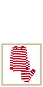 leveret, kids pajamas, striped pajamas