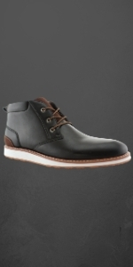 DALTON, engineer boots, leather boots, slip on