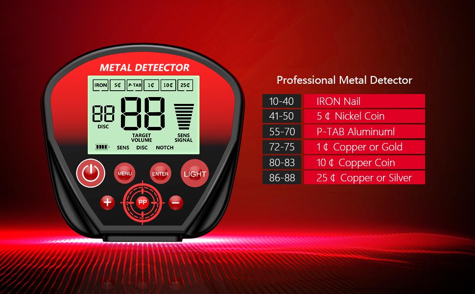metal detectors for adults waterproof