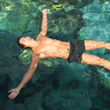 short men's board shorts bathing suit mens bathing suit with mesh liner beach board shorts