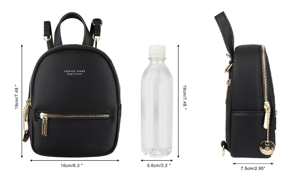 mini backpack purse for women girls