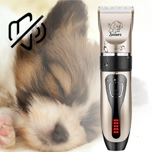 Ultra quiet dog clippers