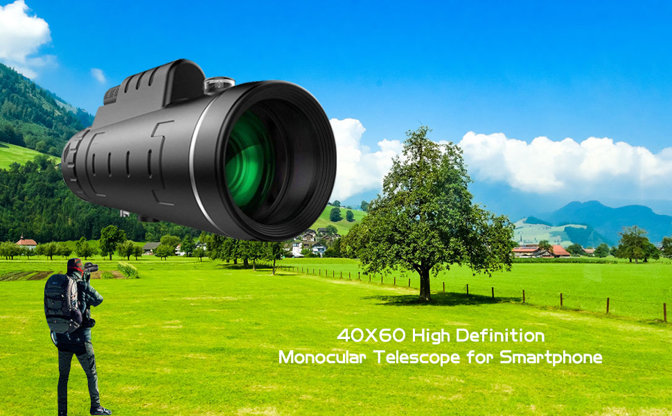monocular telescope for smartphone monoculars for adults