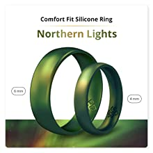 mens 5 pack silicone rings