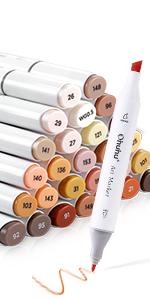 36 skin tone marker
