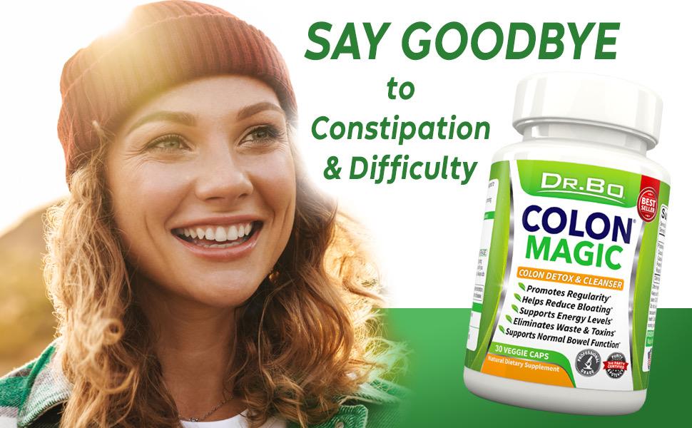colon cleanser pills bowel cleanse detox intestinal blend gut weight loss belly fat women laxative
