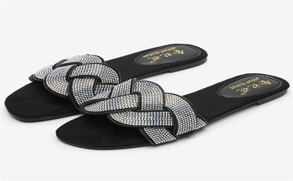 BUY 1 GET 1 flipflop FREE Toddler Rhinestone Slip-on Buckle Sandals size 5-10