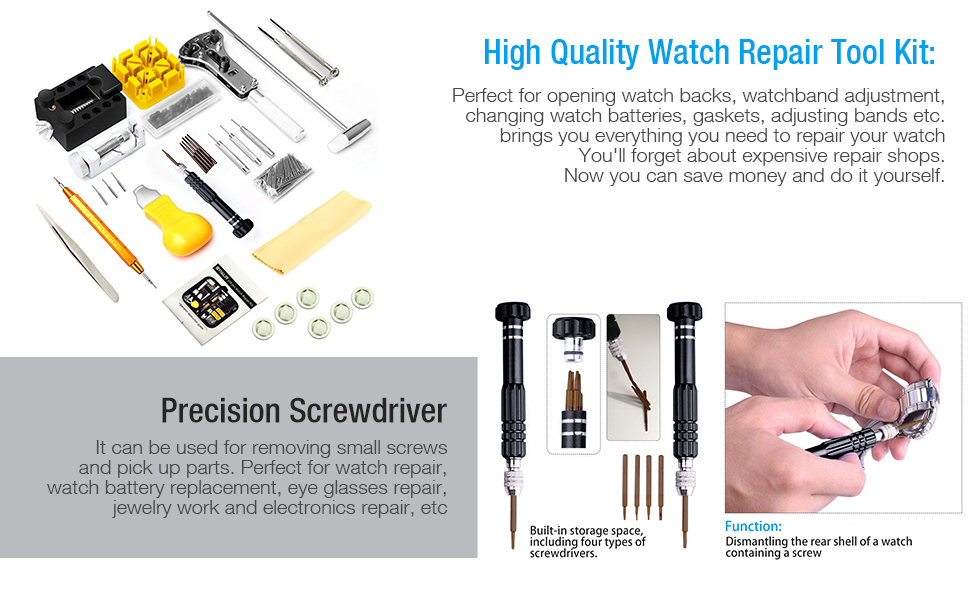 High Quality Watch Repair Kit