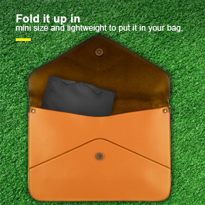 Fold it up in small size