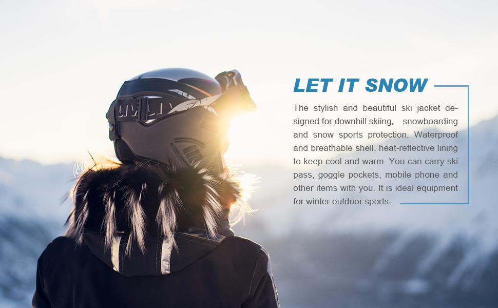 Women Mountain Snow Jacket