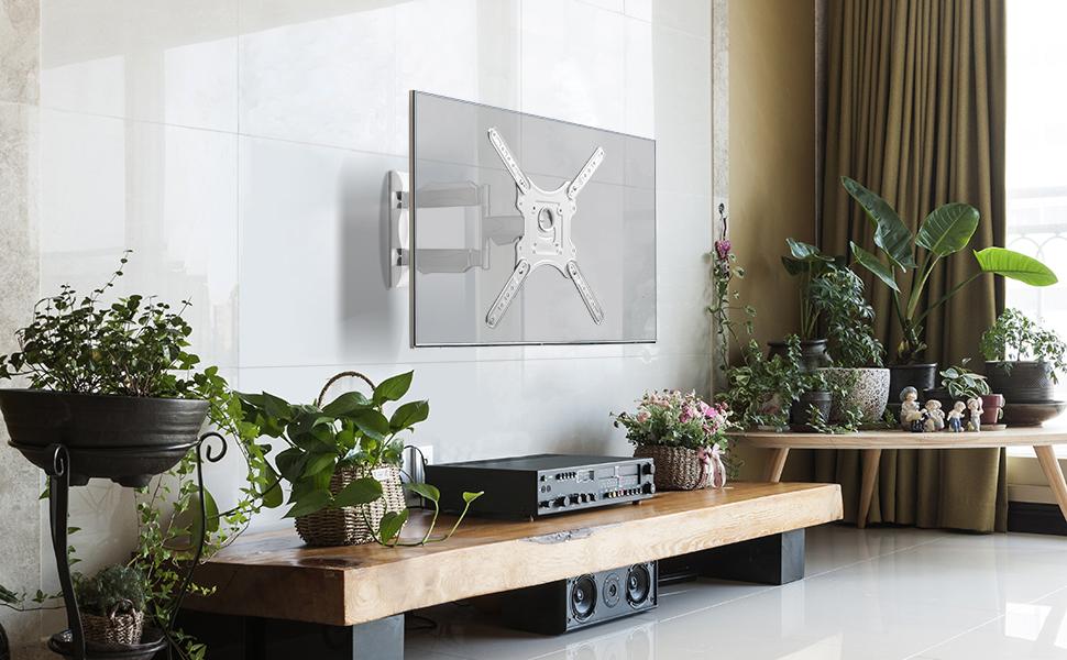 ONKRON Soporte Pared Inclinable TV LCD, LED, Plasma, Curvas 32 - 52 Pulgadas VESA Máx. 400 x 400 - M4