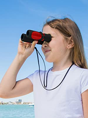 Red Binoculars Girls Binoculars Binoculars for Girls Gifts for girls boys