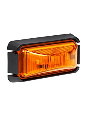 """2.5"""" Amber Clearance Marker Light"""