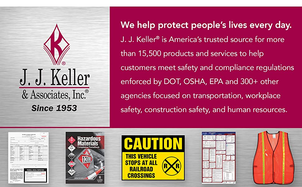 JJ Keller is a trusted source for products and services to help you meet safety amp; compliance regs.