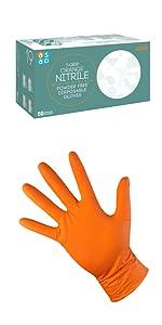 Diamond Grip Gripster Grippaz Orange Garage Gloves