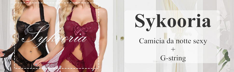 Donna Lingerie Sexy Stampa Pizzo