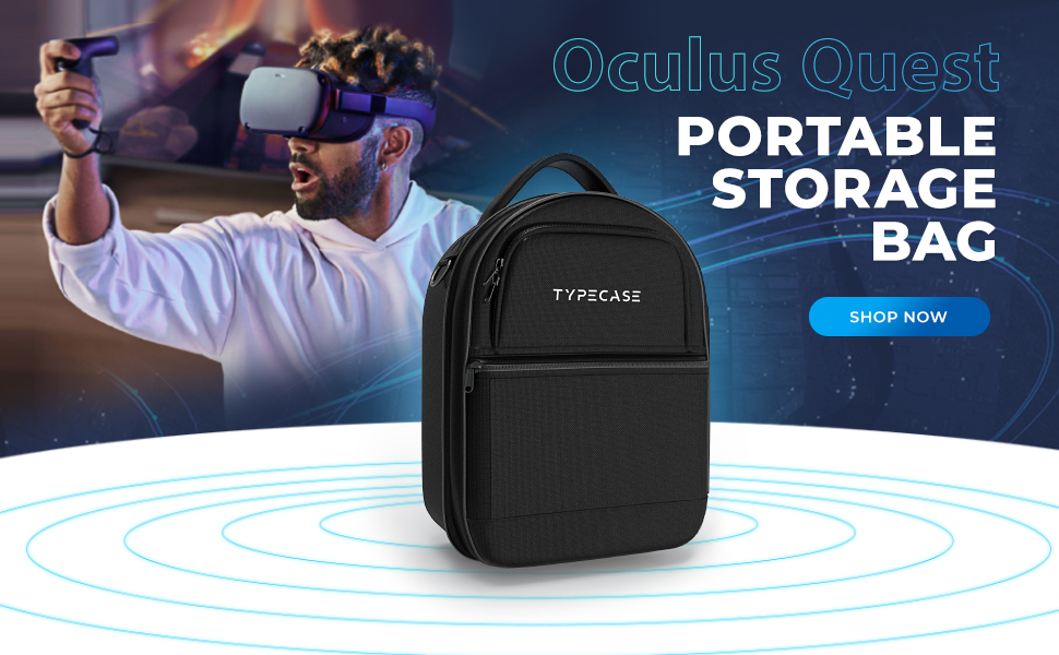 case oculus quest travel vr accessories rift carrying amazon