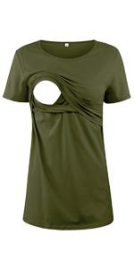 Maternity Shirt Short Sleeve