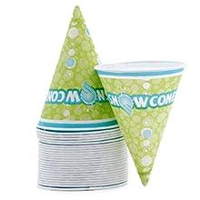 snowcone cups