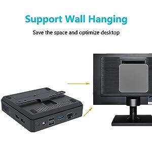 mini computers mini pc small computer cheap pc windows 10 pro gaming pc wall hanging sticker clay