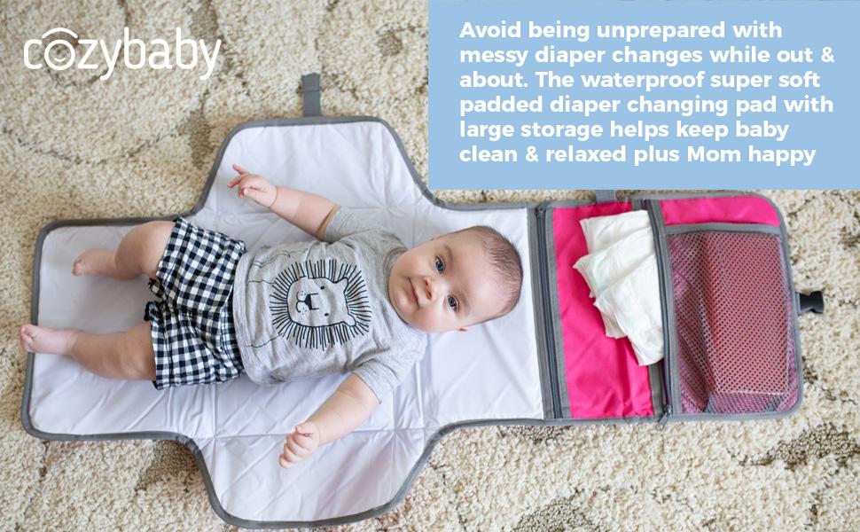 diaper changing pad, baby changing pad, baby changing mat