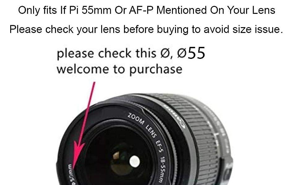 Lens Cap 55mm