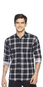 check checkered cotton shirts for men latest casual stylish fashion levizo colours