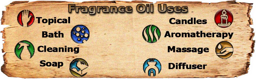 Uses of Essential Depot Fragrance Oils