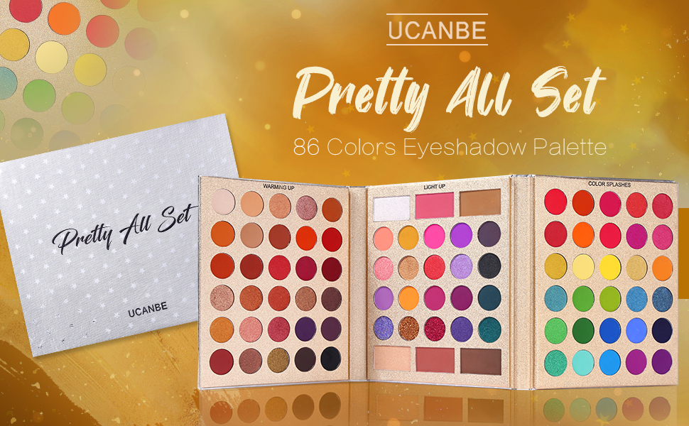UCANBE Pretty All Set Palette