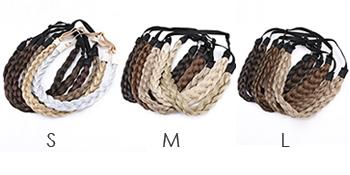 plaited women hairband
