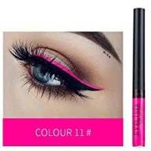 liquid eye liner colourful