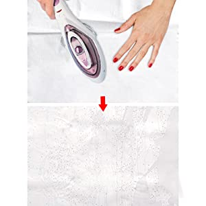 Get creases out easily