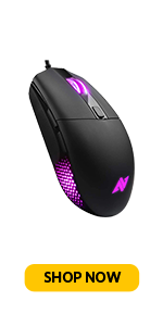 ABKONCORE Wired Mouse