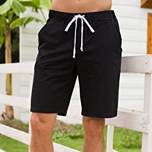 mens shorts casual,mens sweatshorts,cotton shorts,mens sweatshorts with pockets,white jogger shorts