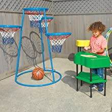 sensory table, trikes, sand and water table, outdoor play, outdoor play equipment for kids, trikes