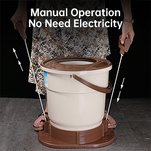 spin dryer portable manual clothes dryer hand pull spin dryer non-electric mini clothes spinner