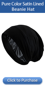 satin lined sleep hat