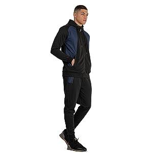Black Jogging Suits for Men