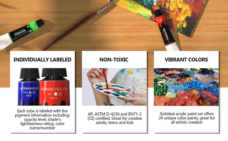 artist paint set