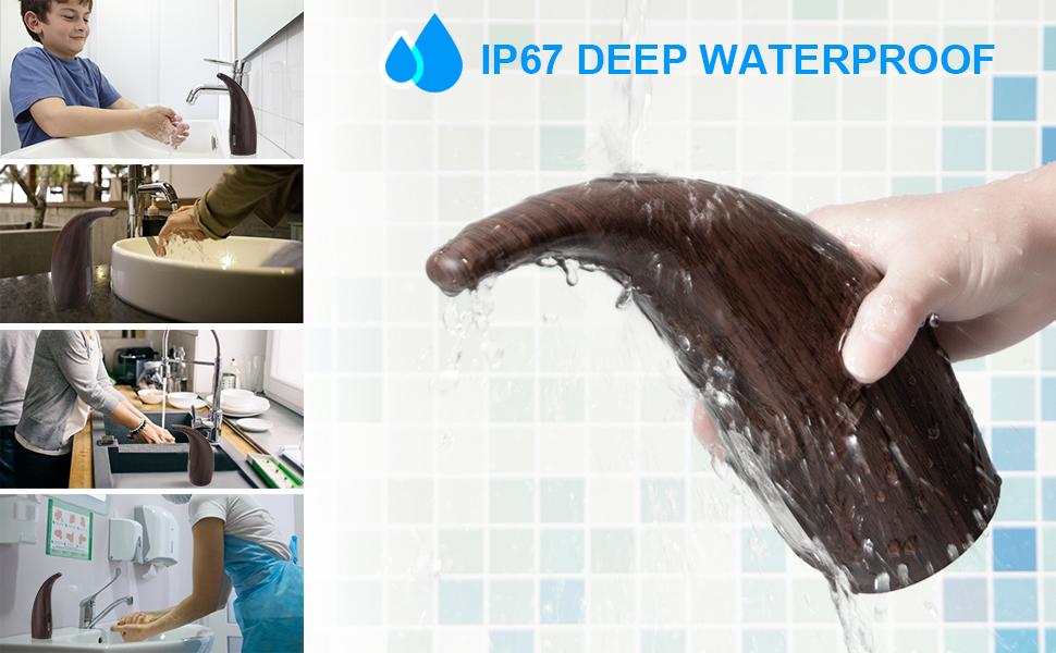 Automatic Soap Dispenser, 10.25oz/300ml Touchless Infrared Sensor Soap Dispenser